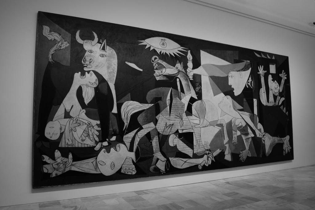 Guernica / Pablo Picasso | foto: flickr.com/photos/geobeat