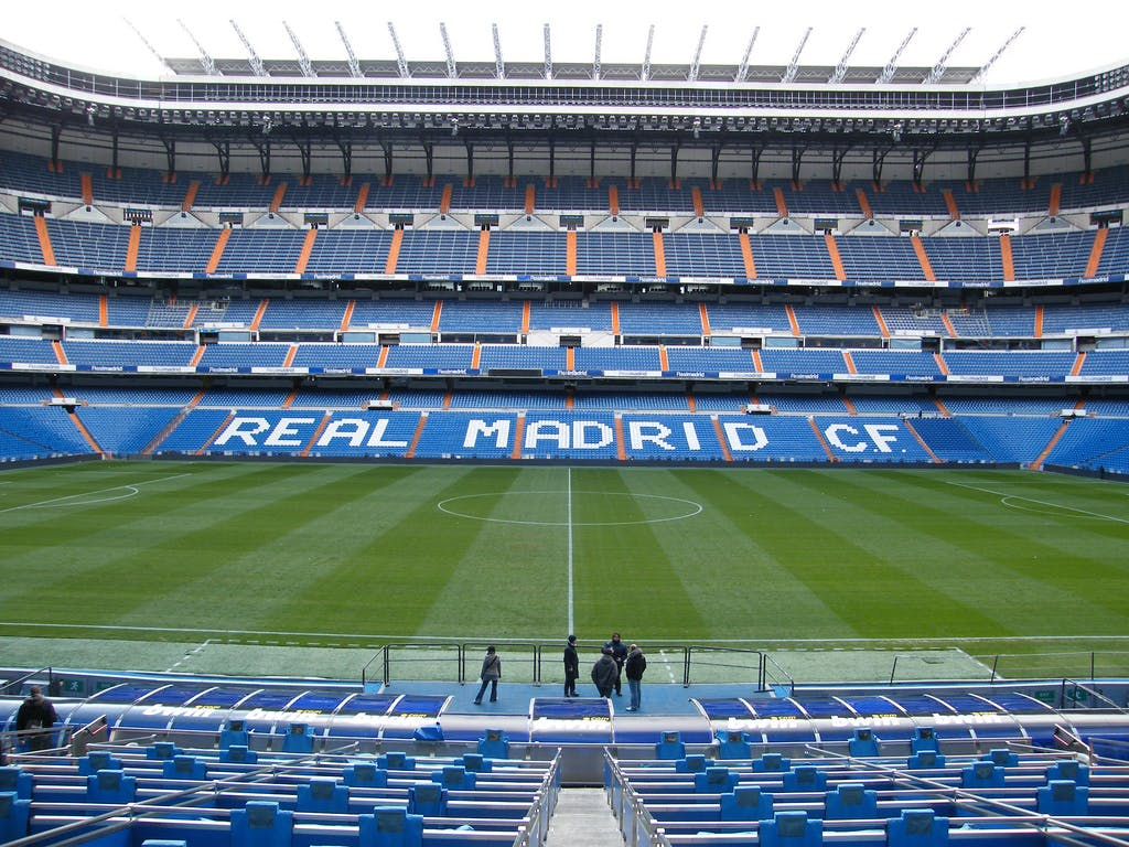 Estádio Santiago Bernabeu (Real Madrid) | foto: flickr.com/photos/uggboy