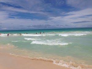 Bellows Beach ocean