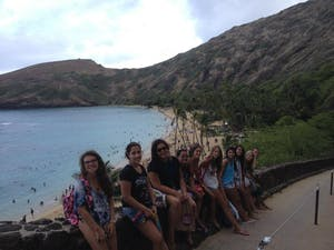 Group at Hanauma Bay