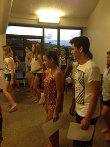 Hula dance class 2