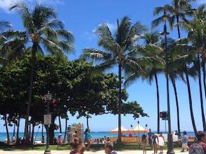 Waikiki front