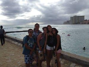 Waikiki surf view