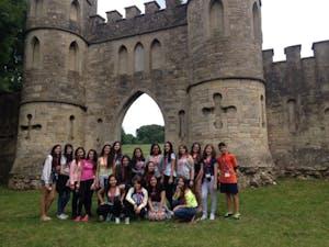 castelo ao lado da Universidade