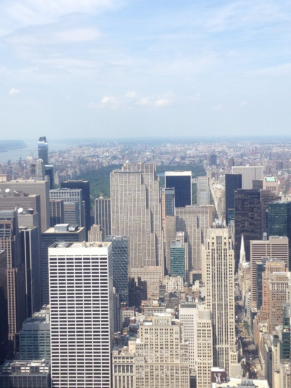 Central Park visto do Empire State