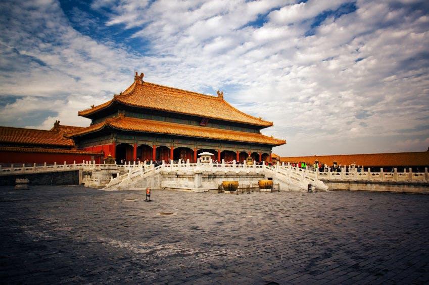 viagem para china