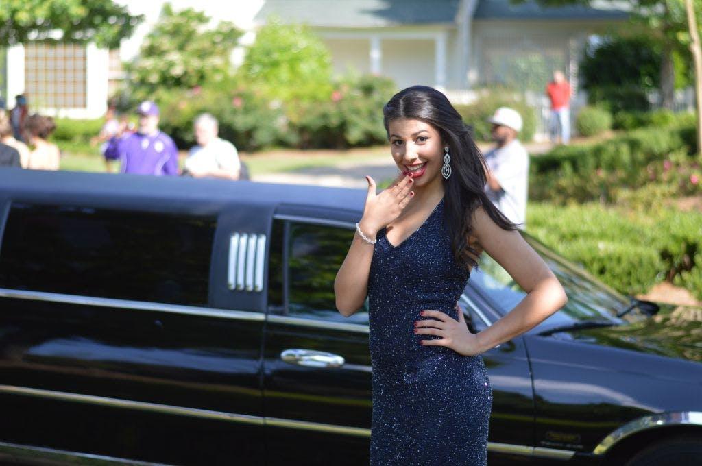 Prom de limousine