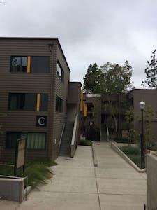 Vista dos nossos apartamentos estudantis! Estrutura sensacional!