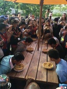 Concurso de comer tortas!