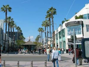 Third street Promenade-puro glamour!