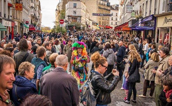 Fête des vendanges em Montmartre