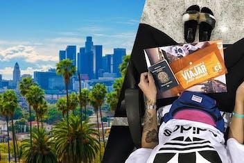 Maju Trindade vai a Los Angeles e dá dicas de intercâmbio