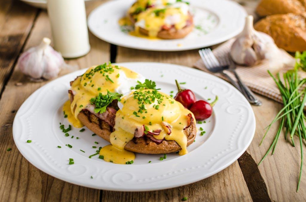 Uma prato diferente que vai muito bem com brunch ou com o café da manhã.