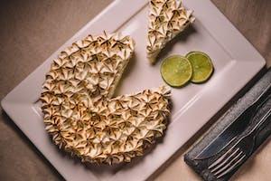 Torta de limão típica americana.