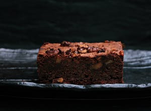 Brownie típico americano.