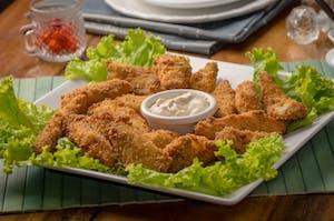 Uma das comidas típicas dos estados unidos, o frango frito.