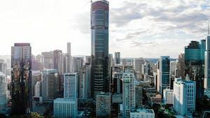 Cidade Brisbane na Austrália