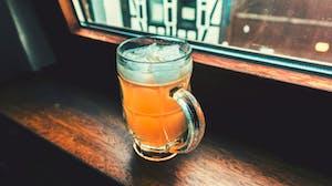 Copo de cerveja, parte importante da cultura da Alemanha.