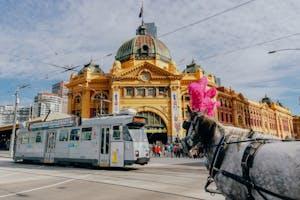 Monumento na cidade de Melbourne, uma das melhores cidades para se viver.