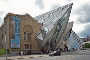 Royal Ontario Musuem, uma atração imperdível para fazer em Toronto.
