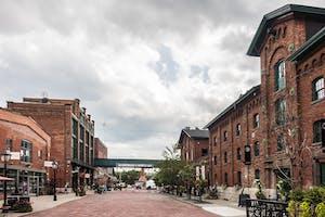 Distillery Historic District, Toronto.
