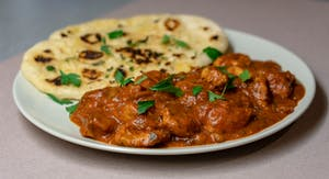 Chicken tikka masala, uma refeição inglesa.