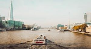Rio Tâmisa, em Londres.