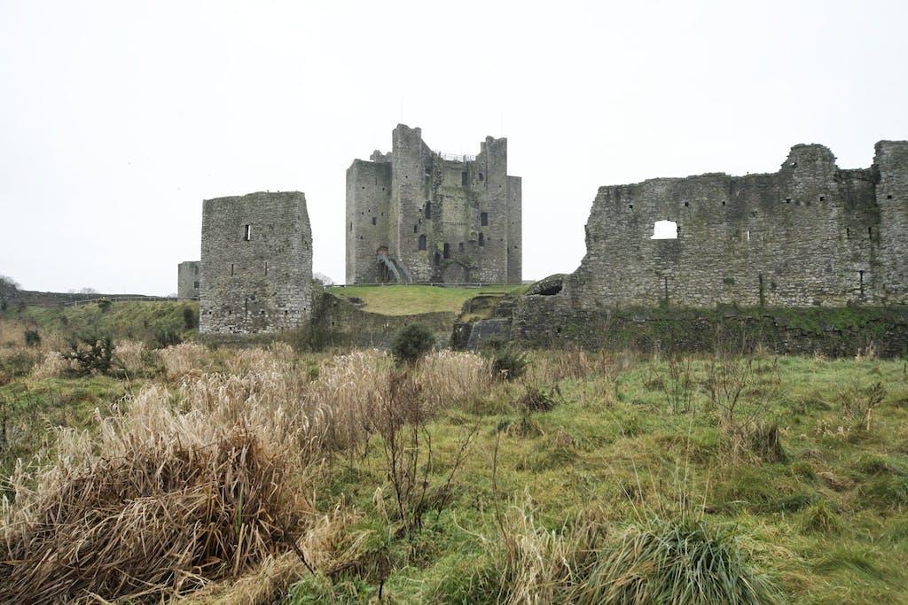 Trim Castle, um dos pontos turísticos da Irlanda