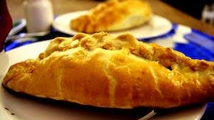Cornish pastry, um prato típico inglês.