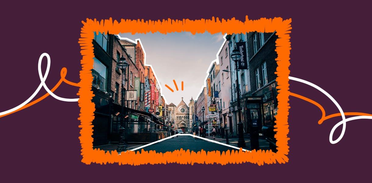 Imagem de capa da publicação sobre morar na Irlanda